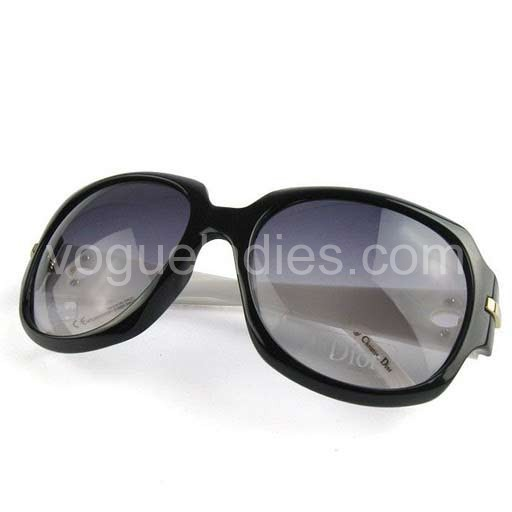 Dior Cannage Sunglasses in White&Black