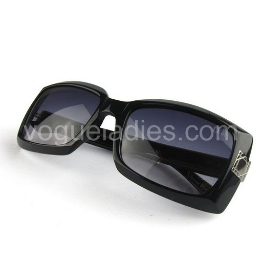Dior Large Square Sunglasses in Black