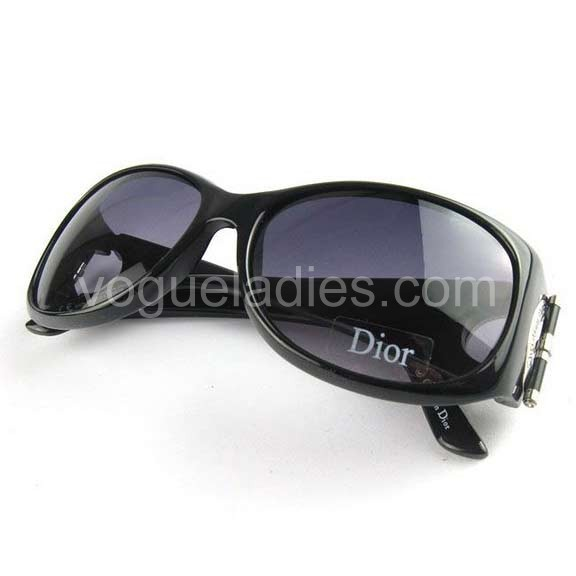 Dior Designer Sunglasses in Black