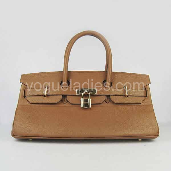 Hermes Birkin 42cm Light Coffee Togo Leather Golden Metal