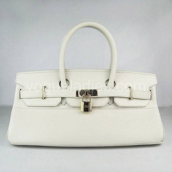 Hermes Birkin 42cm Cream Togo Leather Golden Metal