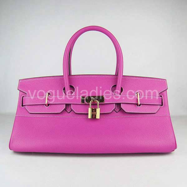 Hermes Birkin 42cm Peach Red Togo Leather Golden Metal