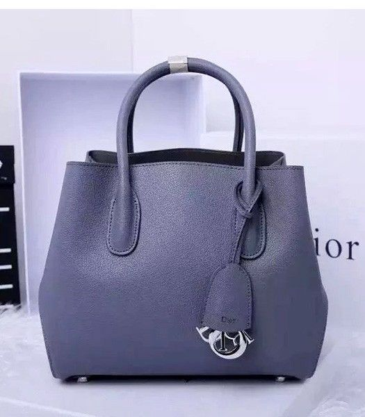 Christian Dior 35cm Exclusive New Tote Bag 60001 Grey Leather