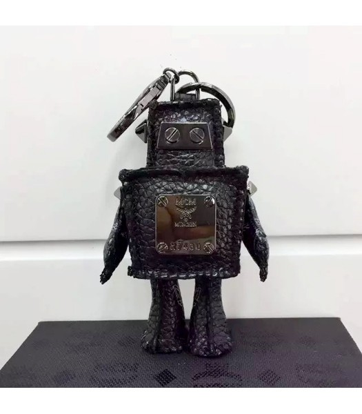 MCM Exclusive Top-quality Robot Keychian In Black