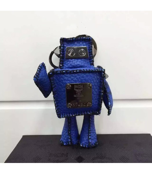 MCM Exclusive Top-quality Robot Keychian In Blue