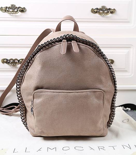 Stella McCartney Latest Design Small Backpack Khaki
