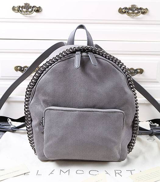 Stella McCartney Latest Design Small Backpack Deep Grey