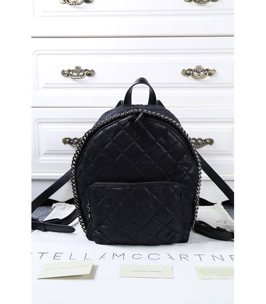 Stella McCartney Latest Design Small Quilted Backpack Black