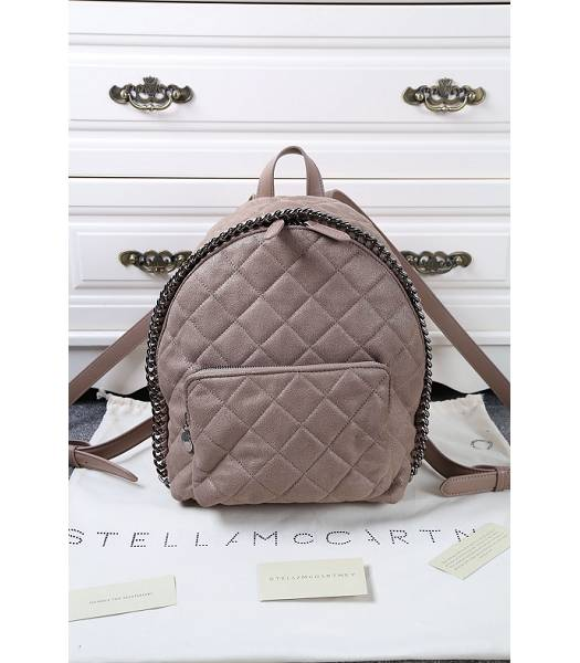 Stella McCartney Latest Design Small Quilted Backpack Khaki
