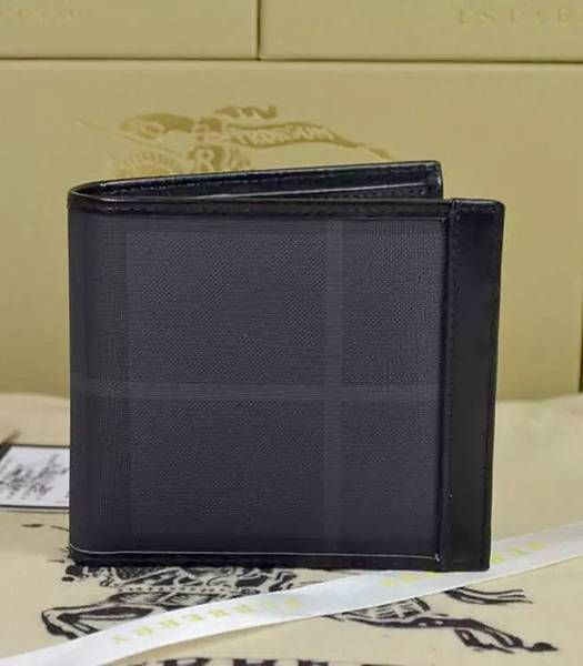 Burberry Calfskin Leather Small Wallet Black