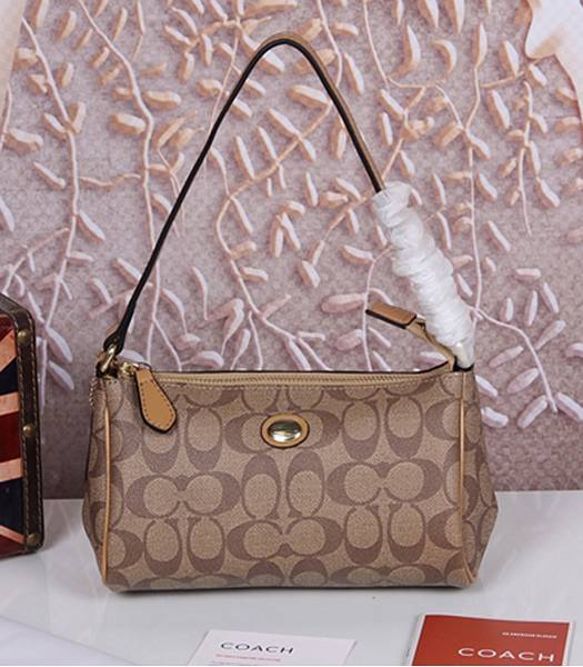 Coach 51175 Peyton Signature Top Handle Bag Apricot