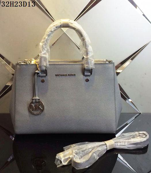 Michael Kors Latest Design Grey Leather Tote Bag