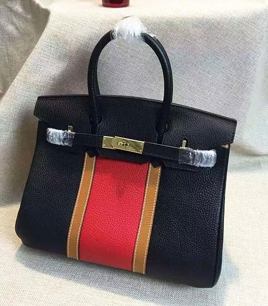 Hermes Birkin 30cm Black Togo Leather Top Handle Bag