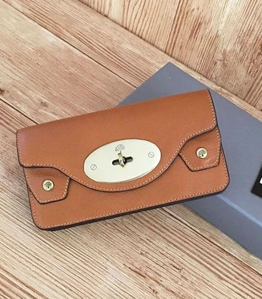 Mulberry New Style Light Coffee Leather Wallet