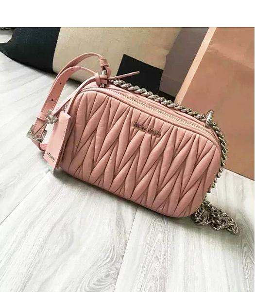 Miu Miu Matelasse Pink Original Leather Small Bag