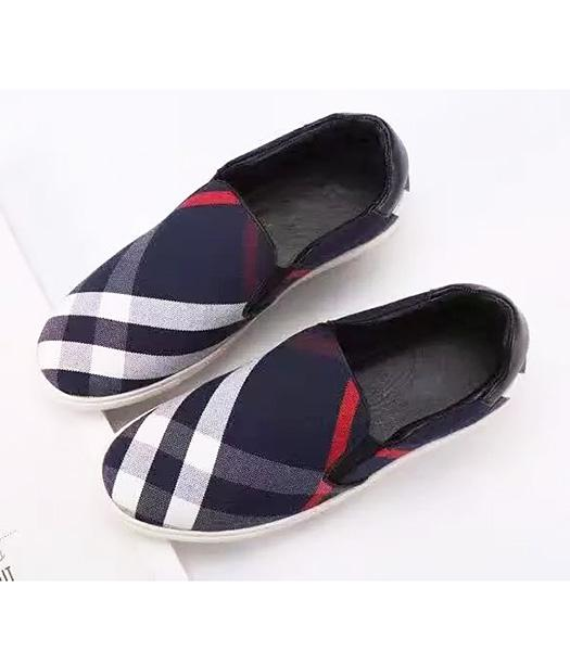 Burberry Blue New Style The Special Material Casual Shoes