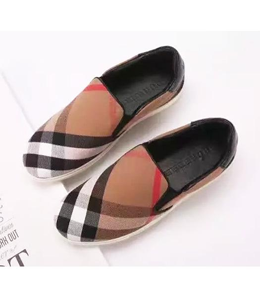 Burberry Apricot New Style The Special Material Casual Shoes