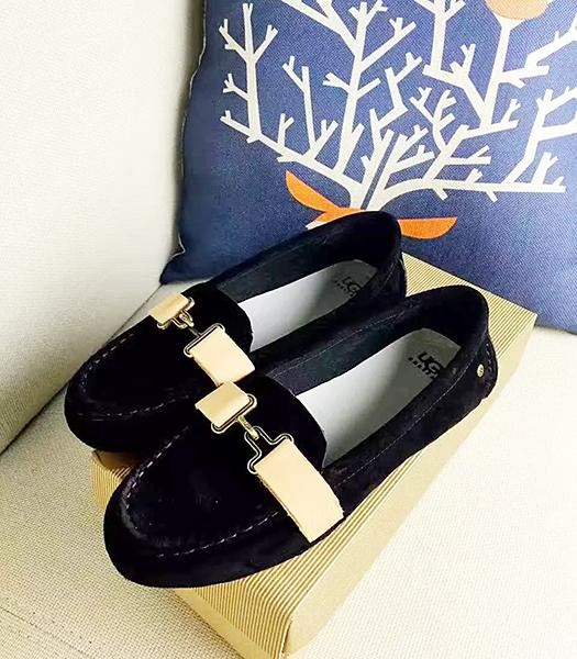 UGG Black New Style Suede Leather Casual Shoes