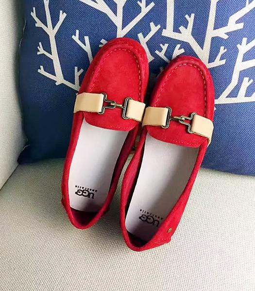 UGG Red New Style Suede Leather Casual Shoes