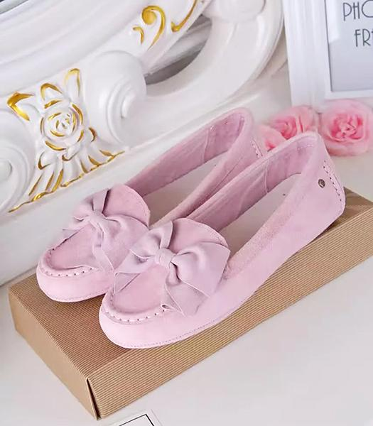 UGG Pink New Style Suede Leather Casual Shoes