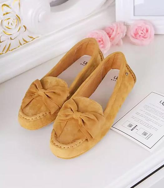UGG Apricot New Style Suede Leather Casual Shoes