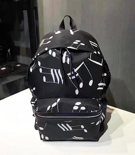Yves Saint Laurent Latest Design Black Backpack