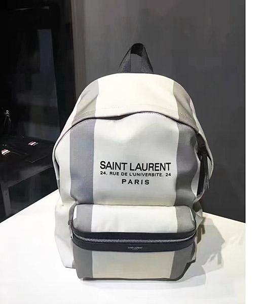 Yves Saint Laurent Hot-sale White Backpack