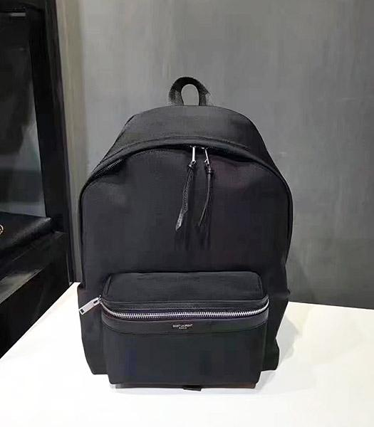 Yves Saint Laurent New Style Black Backpack