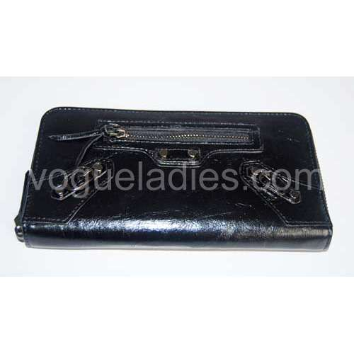 Balenciaga Giant Compagnon Wallet in Black 09005