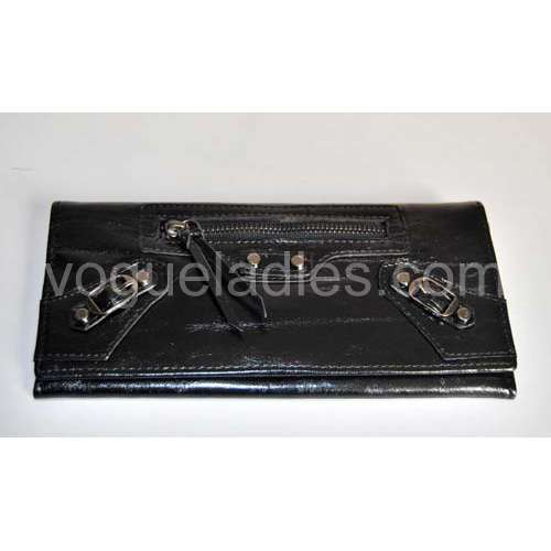 Balenciaga Giant Compagnon Wallet in Black 09006