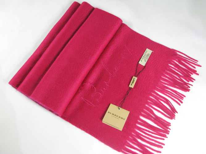 Burberry Cashmere Scarf_Pink_BUP01