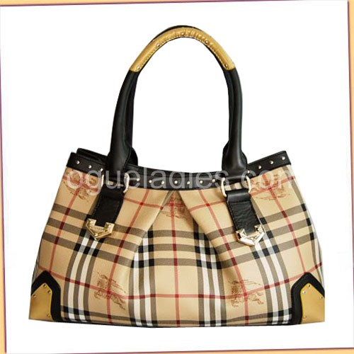 Burberry New Check Bag_Beige_Real leather_29138