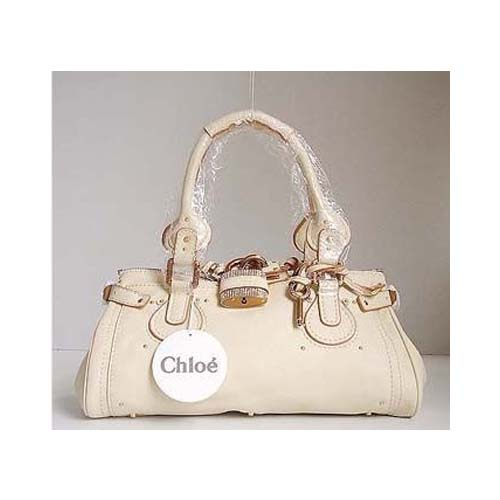 Chloe Paddington_Sparkle Lock_Beige Leather_50831