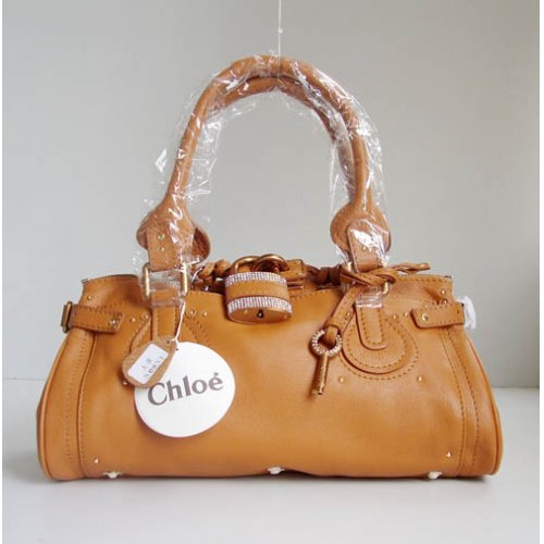 Chloe Paddington_Sparkle Lock_Camel Leather_50831