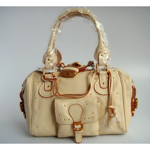 Chloe Paddington Tote_Cream Leather_8385