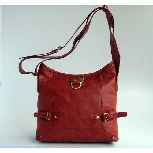 Chloe Strap Bag_Red Leather_8510
