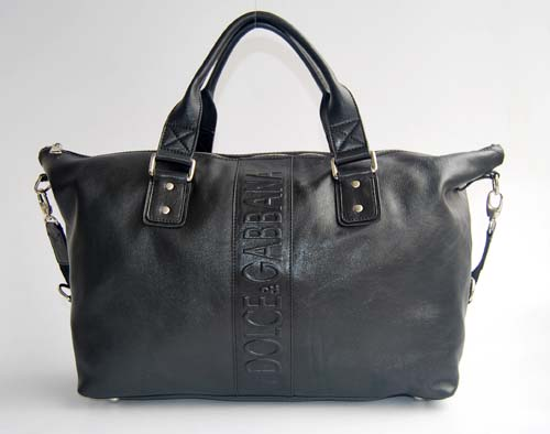 Dolce & Gabbana Handbag_Black Leather_2980