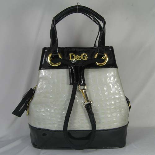 Dolce & Gabbana Oversized Nautical Tote S_Grey Leather_3028
