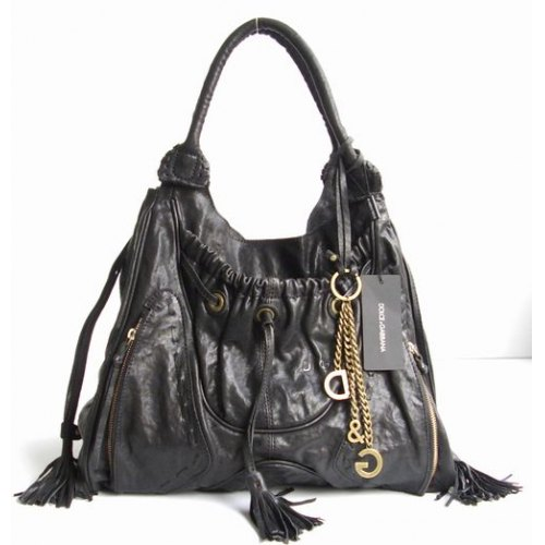 D & G Should Bag_Black Leather_8580