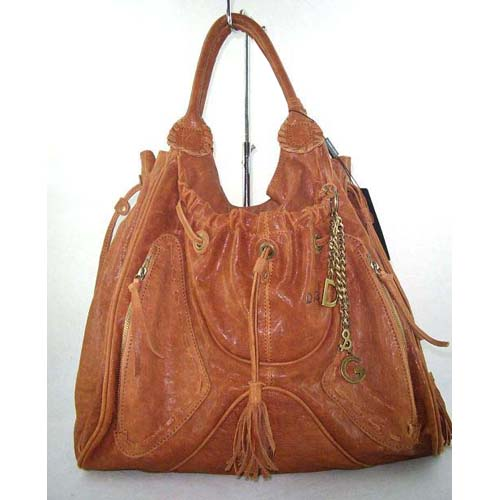 D & G Should Bag_Camel Leather_8580