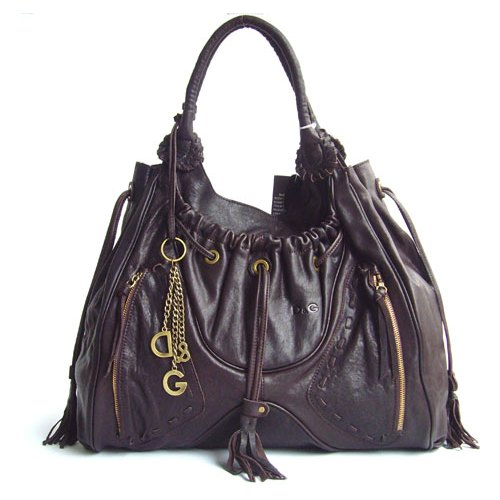 D & G Should Bag_Dark Coffee Leather_8580