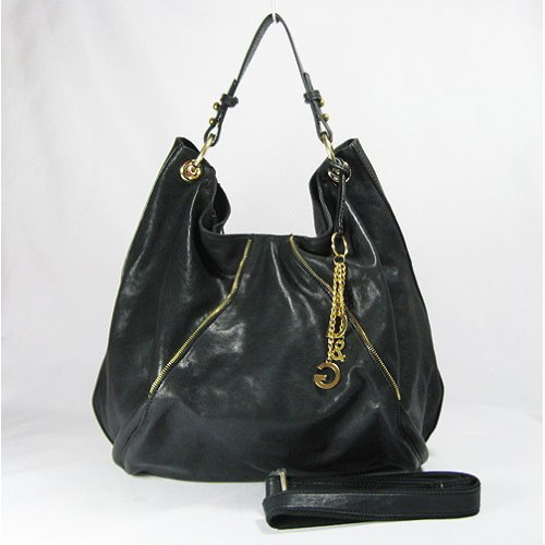 Dolce & Gabbana Hobo_Black Leather_903