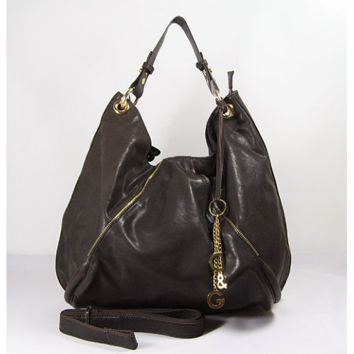 Dolce & Gabbana Hobo_Dark Coffee Leather_903
