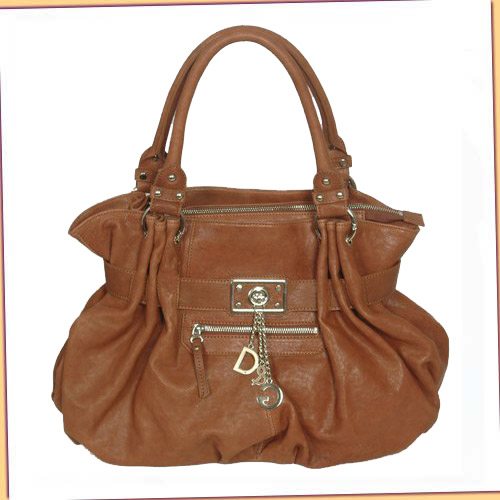 D & G New Bag_Dark Coffee Calfskin_8556