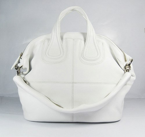 Givenchy Nightingale Bag Small_White Leather_20109
