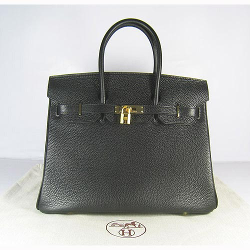 Hermes Birkin 35cm_Black Togo Leather_Gold Metal