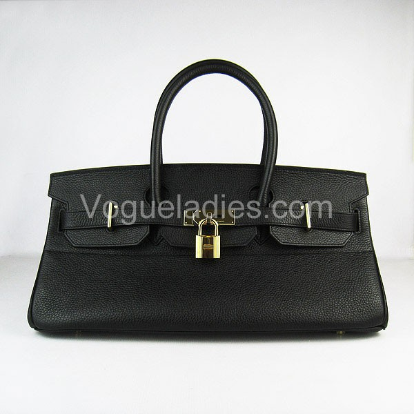 Hermes Birkin 42cm Black Togo Leather_Gold Metal