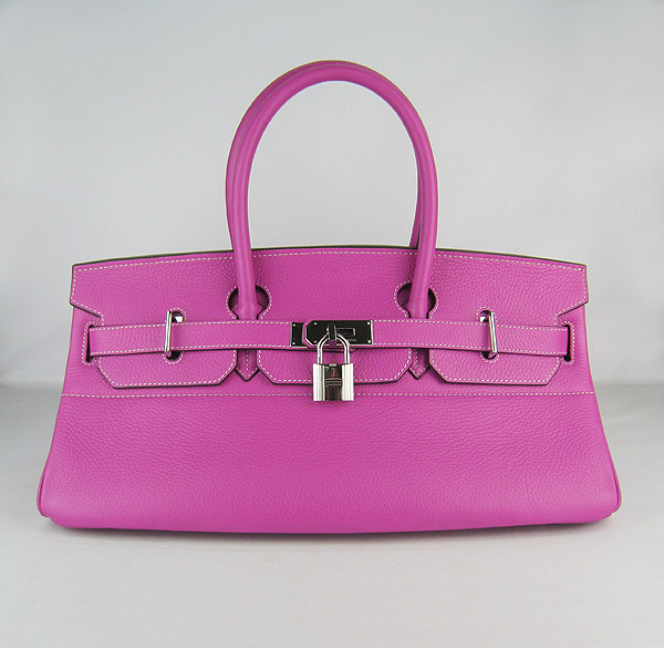 Hermes Birkin 42cm Peach Red Togo Leather_Silver Metal