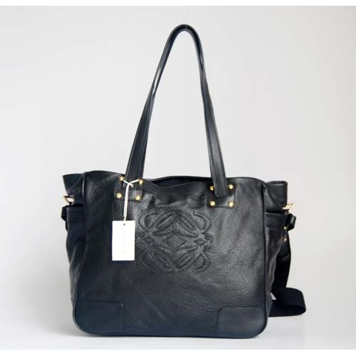 Loewe New Handbag_Black Leather_2716