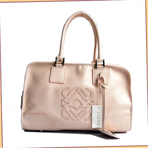 Loewe Amazona Bag_Pink_Patent Leather_D141
